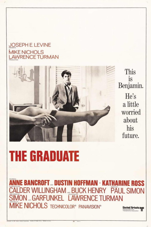 Film Noir The Graduate Film Poster