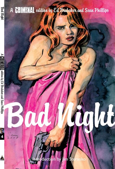Noir Art Sean Phillips Criminal Bad Night Cover
