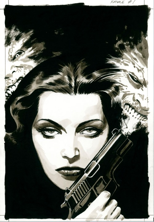 Noir Art Sean Phillips Fatale Cover