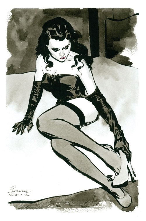 Noir Art Sean Phillips Femme Fatale