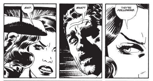 Noir Art Sean Phillips Black and White Panel