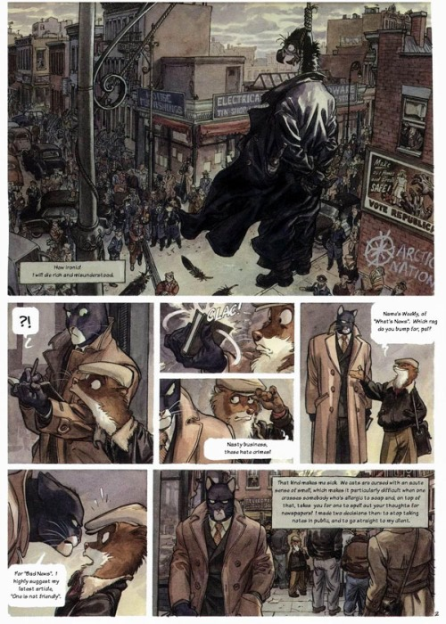 Noir Comics Blacksad Arctic Nation