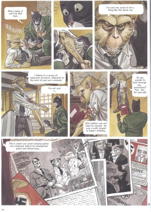 Noir Comics Blacksad Red Soul