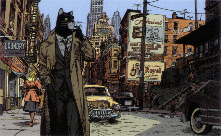 Image result for blacksad