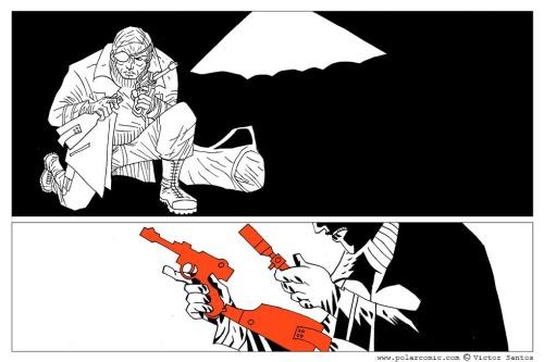 Noir Comics Polar Victor Santos Page 16