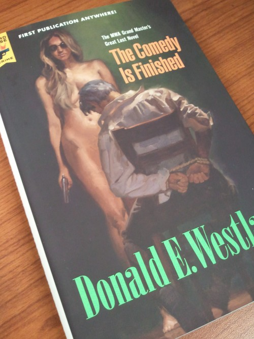 Noir Crime Fiction The Comedy is Finished Donald E Westlake