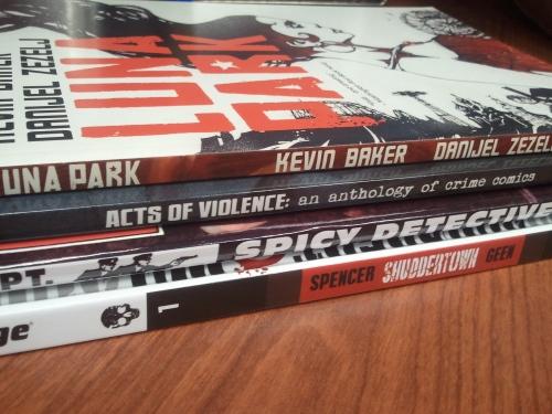 Noir Comics Giveaway