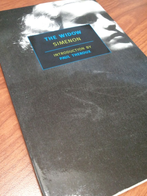 Noir Crime Fiction The Widow Georges Simenon
