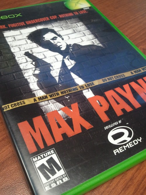 Video Game Noir Max Payne Cover