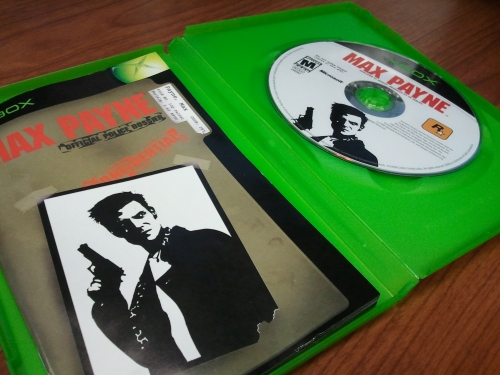 Video Game Noir Max Payne Case