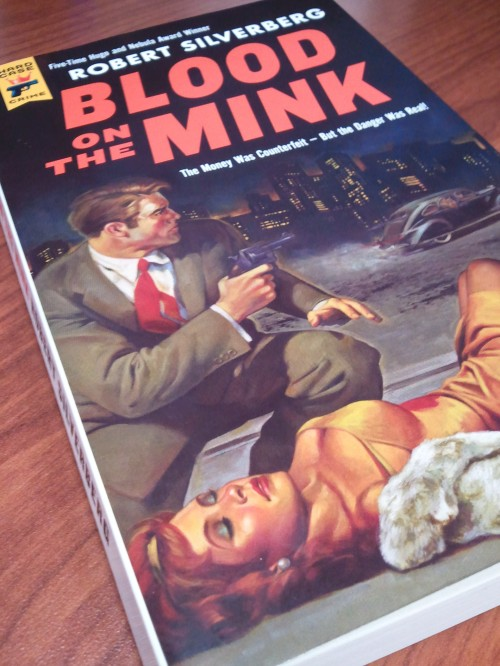Noir Crime Fiction Blood on the Mink Robert Silverberg