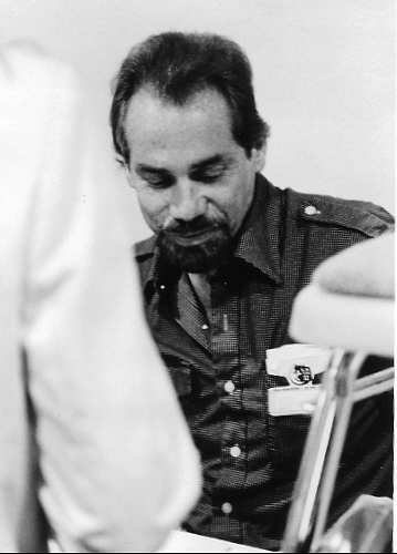Noir Crime Fiction Robert Silverberg at WorldCon 1985