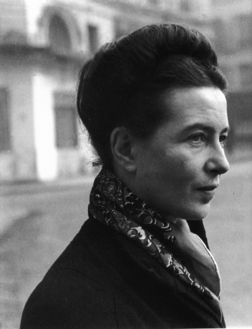 Noir Quotes Simone de Beauvoir