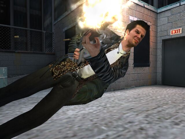 Video Game Noir Max Payne 2002 Noirwhale