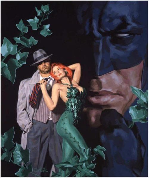 Batman Poison Ivy Commissioner Gordon Glen Orbik