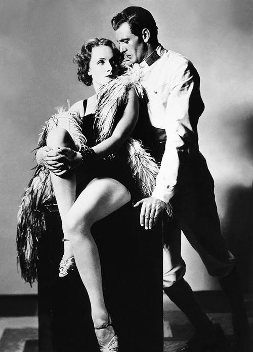 Femme Fatales Marlene Dietrich Gary Cooper Morocco
