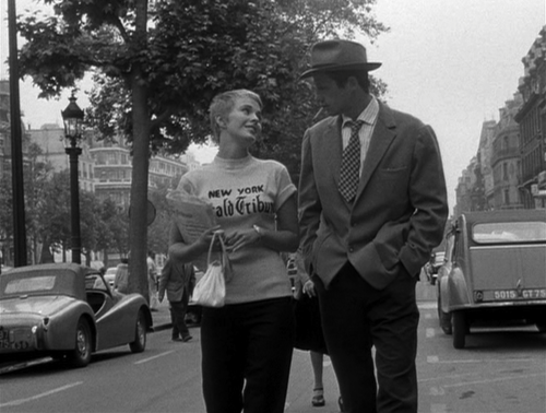 Film Noir Breathless Jean Seberg Jean-Paul Belmondo