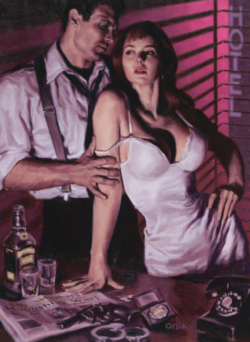 Noir Art Glen Orbik American Century 11