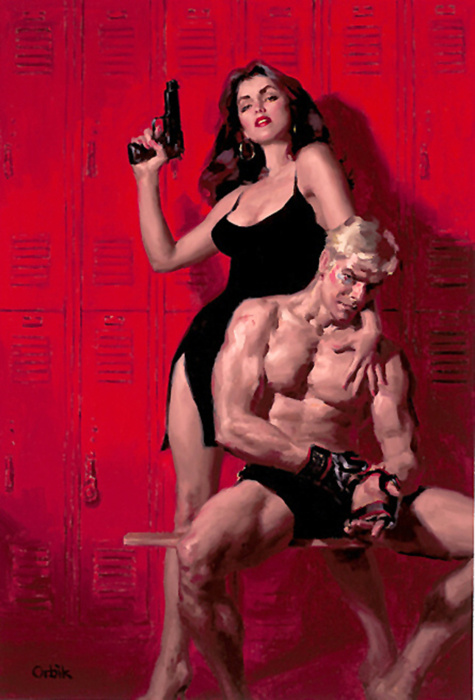 Noir Art Glen Orbik Choke Hold