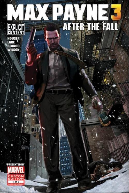 Noir Comics Max Payne 3 After the Fall Cover