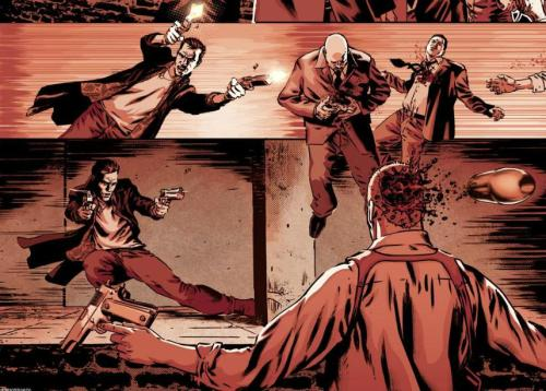 Noir Comics Max Payne 3 Bullet Time