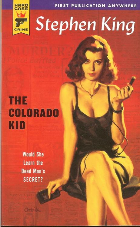 The Colorado Kid Stephen King Glen Orbik