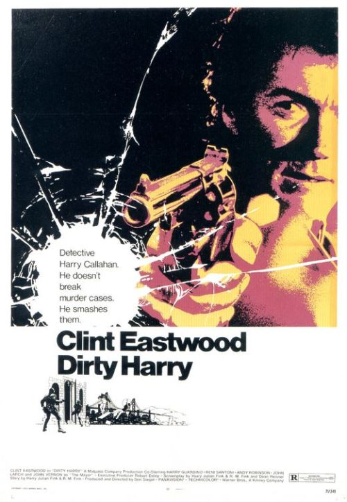 Crime Movies Dirty Harry 1971