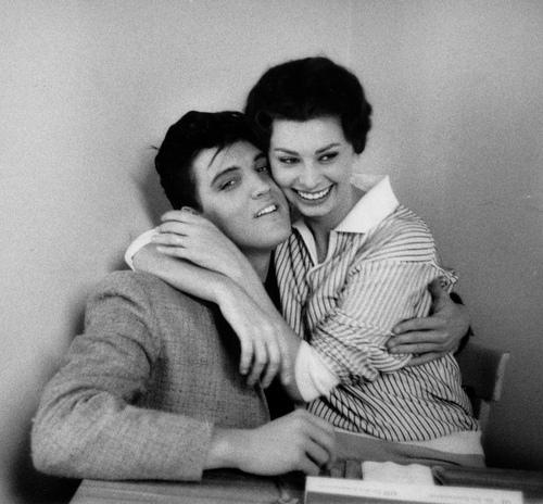 Femme Fatales Sophia Loren Elvis Presley