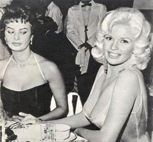 Femme Fatales Sophia Loren Jayne Mansfield