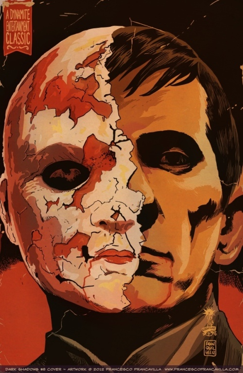 Noir Art Dark Shadows 08 Cover Francesco Francavilla