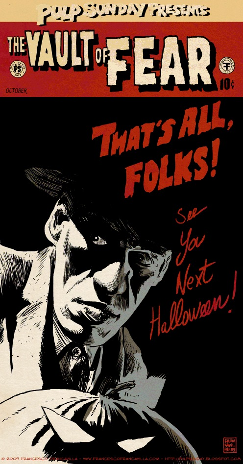 Noir Art Francesco Francavilla Thats All Folks
