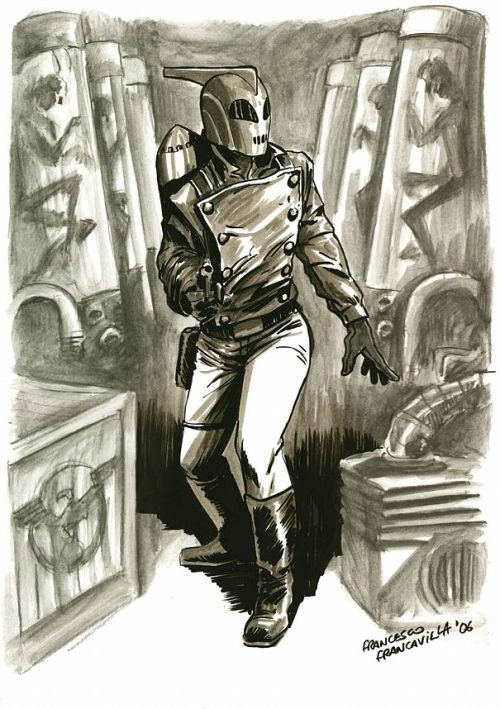 Noir Art Francesco Francavilla The Rocketeer