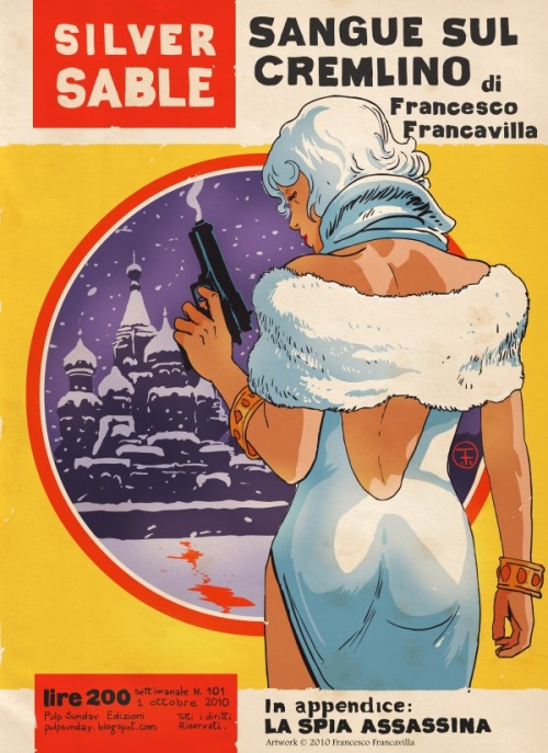 Noir Art Silver Sable Francesco Francavilla