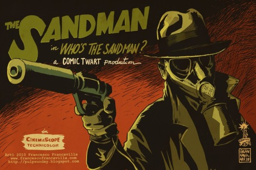 Noir Art The Sandman Francesco Francavilla