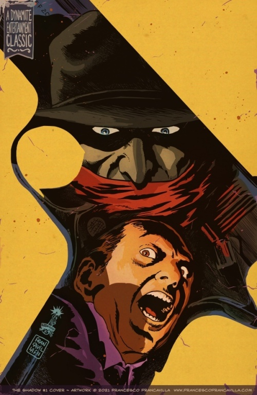 Noir Art The Shadow 01 Cover Francesco Francavilla