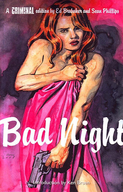 Noir Comics Criminal Bad Night Ed Brubaker Sean Phillips