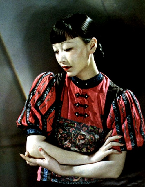 Anna May Wong Color Picture