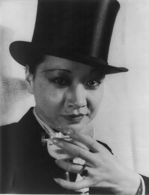 Anna May Wong Top Hat
