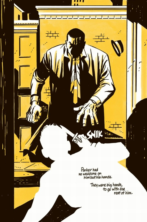 Noir Comics Parker The Score