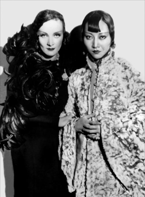 Marlene Dietrich Anna May Wong
