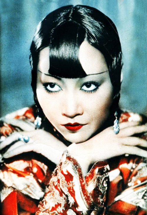Anna May Wong Color Portrait