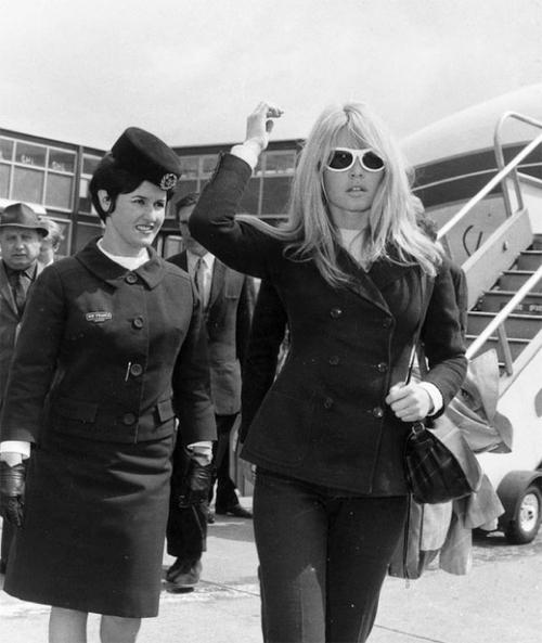 Starlet Brigitte Bardot