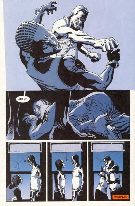 100 Bullets by Brian Azzarello and Eduardo Risso