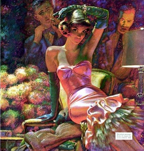 Pulp Art Edwin Georgi