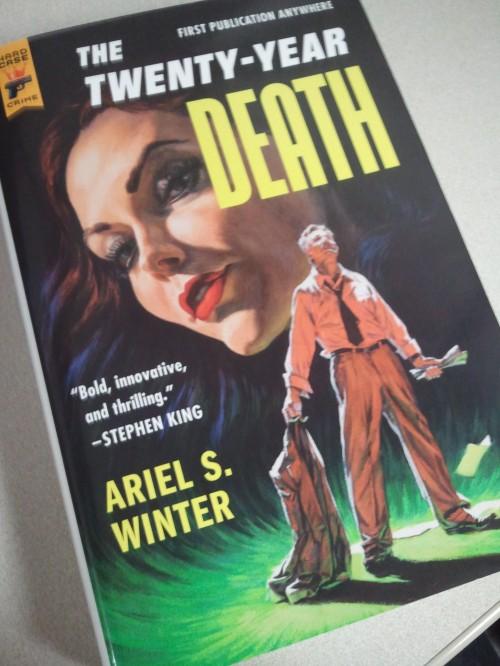 Noir Crime Fiction The Twenty-Year Death by Ariel S. Winter