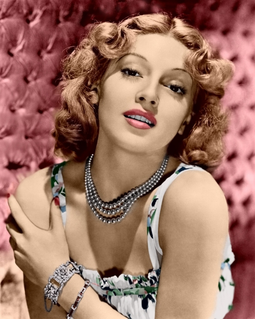 Lana Turner in Color