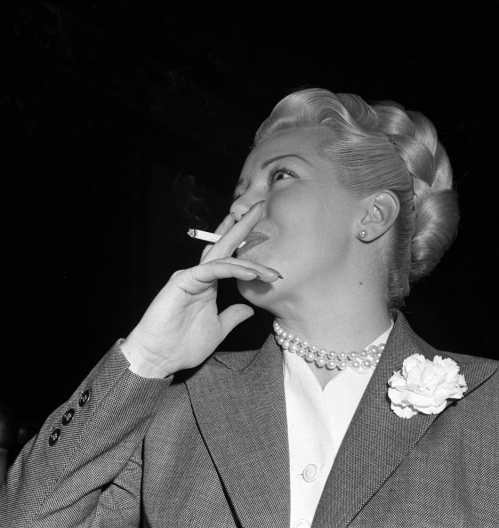 Smoking Lana Turner
