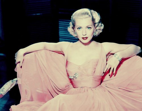 Lana Turner in Pink
