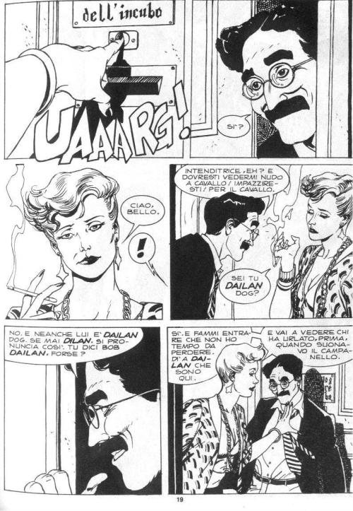 Noir Comics Dylan Dog