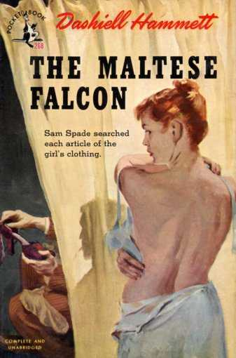 The Maltese Falcon Pulp Cover